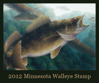 2012 Minnesota Walleye Stamp